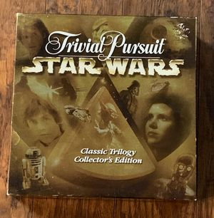 Trivial Pursuit Star Wars Classic Trilogy Collector's Edition Game for Sale in Jacksonville, NC
