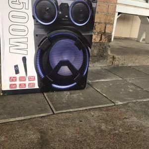 """Bocina Nueva 12"""" 8,500 Watts Micrófono Incluido for Sale in Pasadena, TX"""