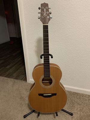 Takamine Acoustic Guitar with case! for Sale in Red Oak, TX