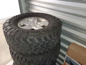 Jeep wheels and tires. for Sale in San Diego, CA