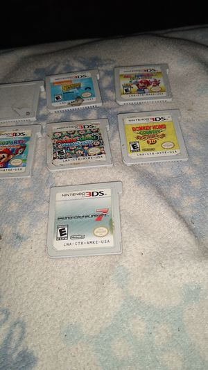 3ds games for Sale in San Bernardino, CA