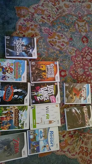 11 wii games. All like new for Sale in Columbus, OH