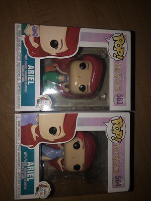 Ariel the little mermaid Disney pop figurines for Sale in Tampa, FL