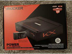 Kicker amplifier for Sale in Seattle, WA