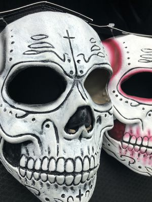 Day of the dead Halloween masks for Sale in Oak Park, IL