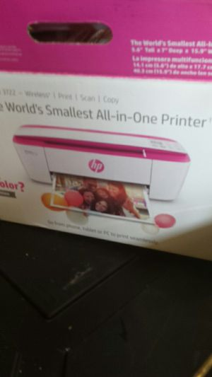 Hp Printer all in one and Ink for Sale in Hensley, AR