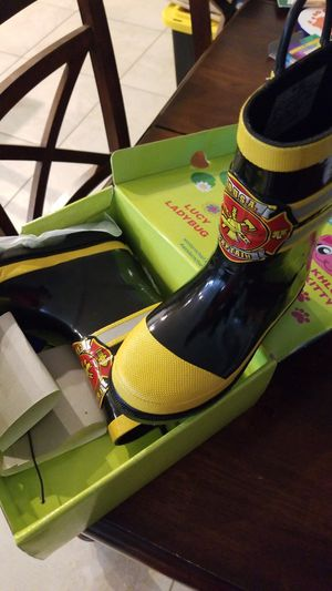 Western Chief -Fire Department Rain Boots- Kids Size 12 for Sale in Henderson, NV