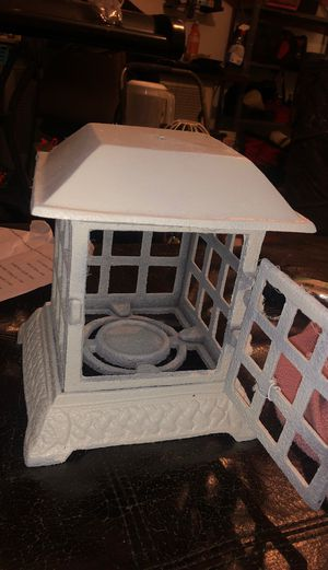 Hand made White bird cage candleholder for Sale in Philadelphia, PA