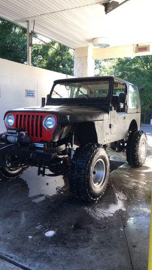Turbo92 Jeep Wrangler 2.5 5 speed for Sale in Lutz, FL