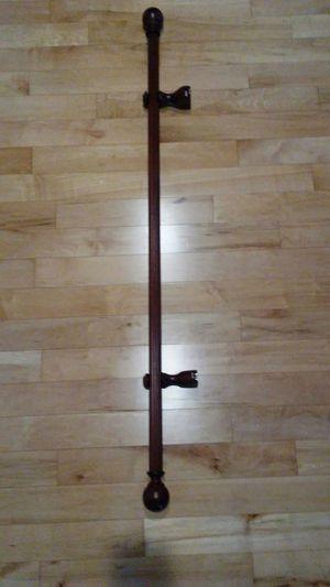 Drapery pole wood 4' for Sale in Seattle, WA