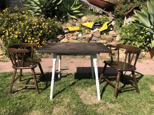 Kids table chairs children for Sale in Spring Valley, CA
