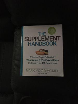 The Supplement Handbook Medical for Sale in Norwalk, CA