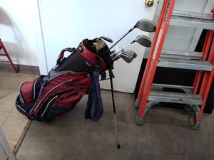 Set of Golf Clubs with Backpack Style Golf Bag for Sale in Phoenix, AZ