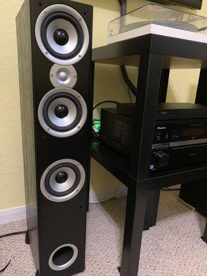 Polk Audio T90e three way floorstanding speaker for Sale in Cypress, TX