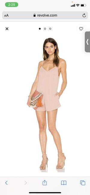 Anthro Romper in Dusky Pink Motel SIZE M for Sale in Miami, FL