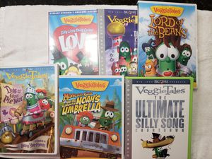 VeggieTales DVD collection for Sale in Pinellas Park, FL