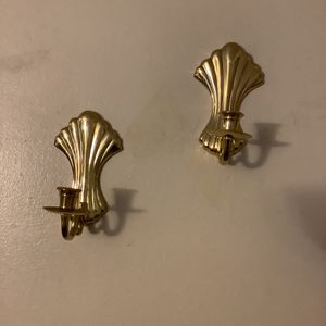 Two Gold Wall Candles Holders for Sale in Boston, MA