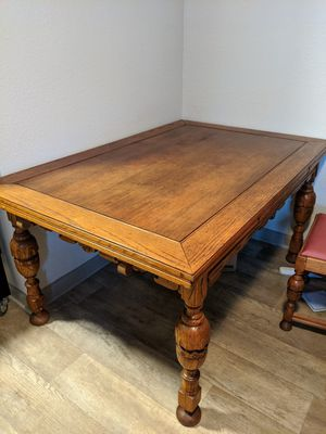 Antique Dining Table and Chairs for Sale in Nashville, TN
