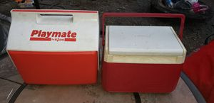 2 Vintage Hand Carry Coolers for Sale in Lorain, OH