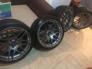 """5x120. 19"""" Forgestar F14 Staggered for Sale in Winter Hill, MA"""