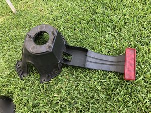 Jeep Wrangler JK 2014 factory spare tire carrier and brake light for Sale in Glendale, CA