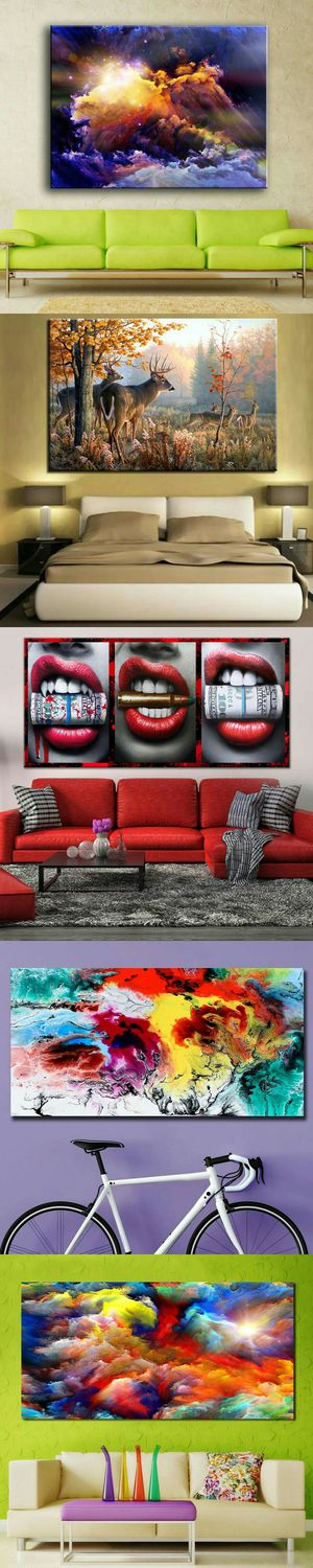 Abstract Artwork Modern Framed Wall Art Oil Painting Canvas Print Picture Home Room Decor Gift for Sale in Las Vegas, NV