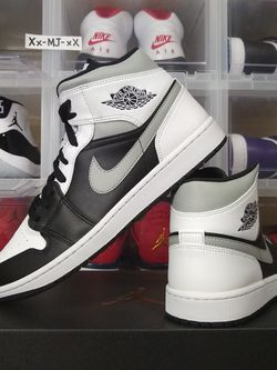 "New* 2020 Air JORDAN 1 Mid Black Light Smoke Grey ""White Shadow"" MENS Size 12 US - DS OG All for Sale in Everett,  WA"