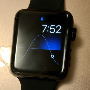Apple Watch Series 3 42mm Stainless Steel Cellular GPS Space Black for Sale in Kirkland, WA