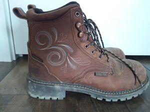 Womens Justin work boots for Sale in Ridgefield, WA
