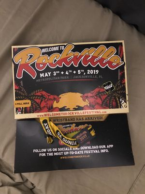 Welcome to Rockville Sunday pass for Sale in Valdosta, GA