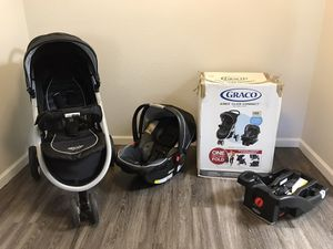 Graco Stroller and Infant Car Seat (Travel System) for Sale in Benicia, CA