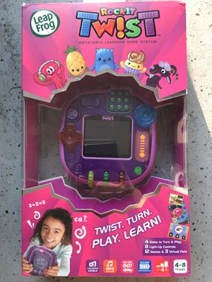 Brand New ! LeapFrog RockIt Twist Purple ! Handheld Kids Game ! for Sale in Chino Hills, CA