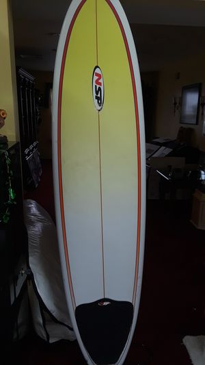 7 foot NSP surfboard with carrying case for Sale in Toms River, NJ