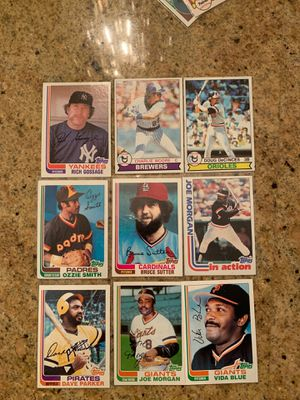 9 Cards from 1982 and 1979 for Sale in Upland, CA