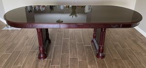 Oblong Wood dining table for Sale in Eagle Lake, FL