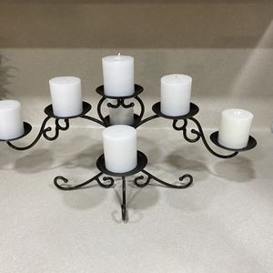 Nice candle Holder With Candles !! for Sale in Spring, TX