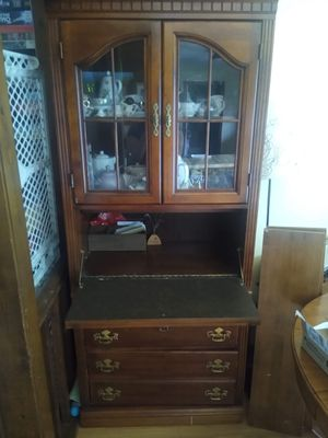 Antique Desk/Cabinet for Sale in Willow Spring, NC