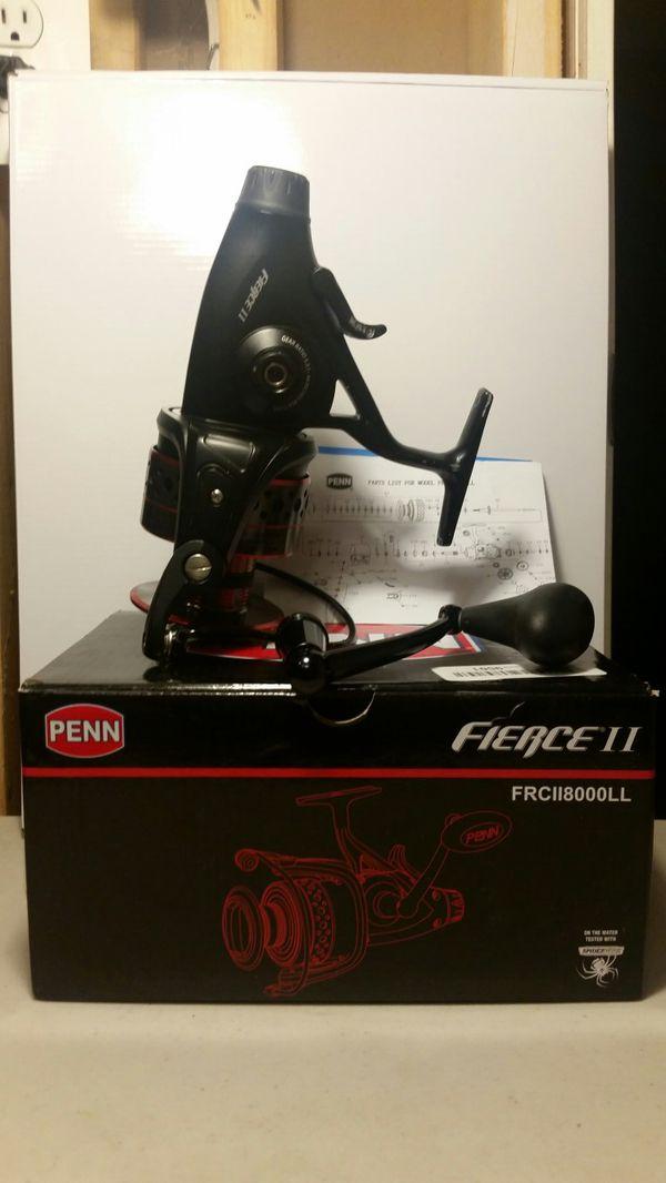 PENN Fishing Fierce II Spinning Reel FRCII8000 $65