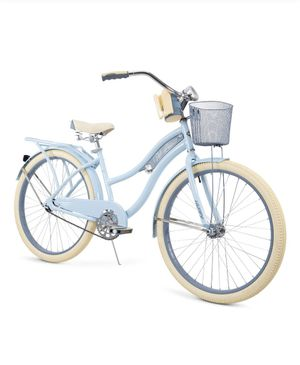 """*NEW* Huffy 26"""" Womens Nel Lusso Cruiser Bike with Perfect Fit Frame, Light Blue for Sale in Carol Stream, IL"""