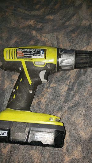 Ryobi drill cheap price for Sale in Washington, DC