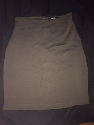 Olive green pencil skirt Small for Sale in Los Angeles, CA