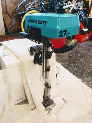 Cruise n carry 2.7 hp 2 stroke for Sale in Rancho Cucamonga, CA
