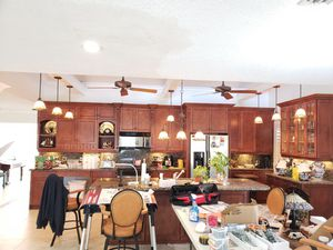 10 hanging tifanny stained-glass kitchen lights for Sale in Deerfield Beach, FL