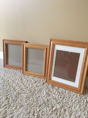 Solid Oak Photo Frames for Sale in Lakeville, MN
