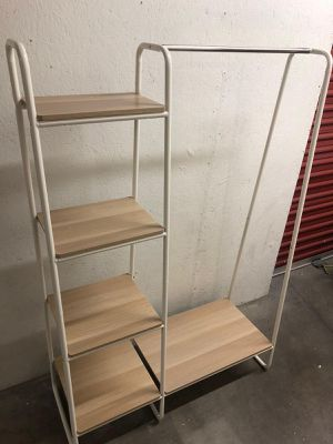 Clothes rack and shoes rack for Sale in Las Vegas, NV