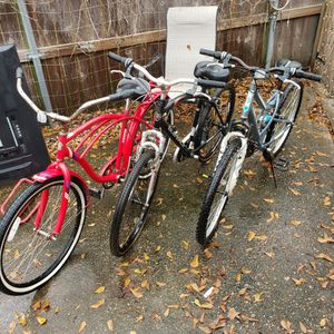 Three Bikes for Sale in Humble, TX