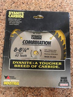 "8-8 1/4"" 40 teeth circular saw blade for Sale in Phoenix, AZ"