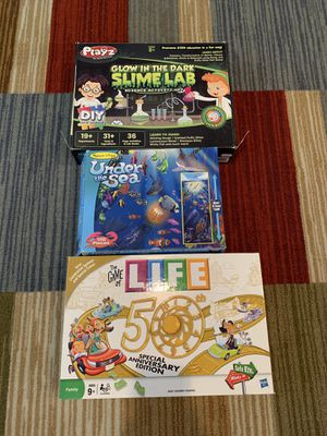 3 games toys puzzles 🧩 for Sale in Las Vegas, NV