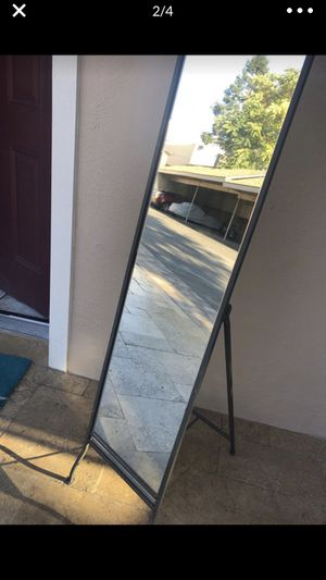Crate and Barrel Floor Mirror for Sale in Los Gatos, CA