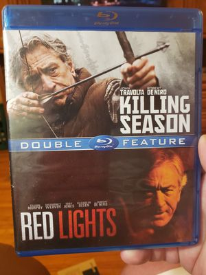 Double Feature The Killing Season/Red Lights Bluray for Sale in Richfield, MN